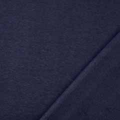 Sweatstoff Alpenfleece uni, dunkelblau