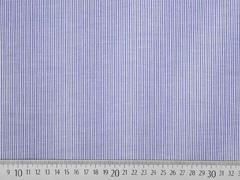 Baumwollstoff Stretch schmale Streifen, blau weiß