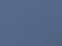 RESTSTÜCK 26 cm dicker Sweat angeraut, jeansblau
