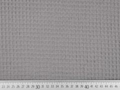 RESTSTÜCK 46 cm Waffelpiqué Frottee, taupe