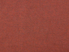 glattes Bündchen terracotta schwarz melange