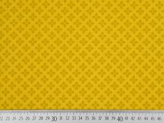 Baumwolle Kreuzblume, senfgelb