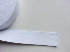 Gurtband - 4 cm breit, weiss #1