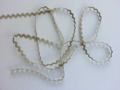 Zackenlitze Cotton 10mm, taupe