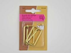 verstellbare Schieber 32 mm, gold