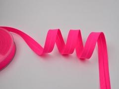 Schrägband neon pink