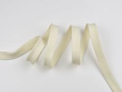 Flache Kordel 13 mm, natur