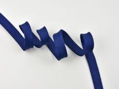 Flache Kordel 14 mm, dunkelblau