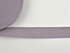 Gurtband - 4 cm breit, grau #33