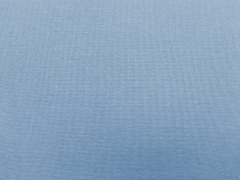 glattes Bündchen - dusty blue