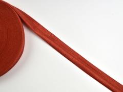 elastisches Falzband 18 mm, rostbraun