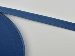 Gurtband 2,5 cm Polypropylen, jeansblau