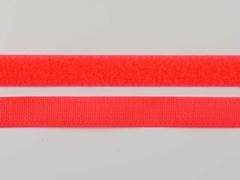 Klettband 2 cm, neon orange