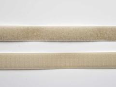 Klettband 2 cm, ecrue