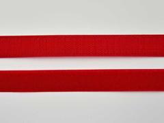 Klettband 2 cm, dunkelrot