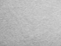 Sweat angeraut - Hellgrau Melange