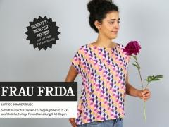 Schnittmuster Damen Bluse FrauFrida Studio Schnittreif