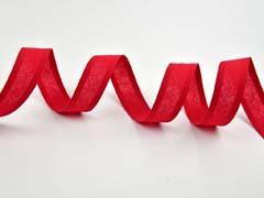 Schrägband uni, rot