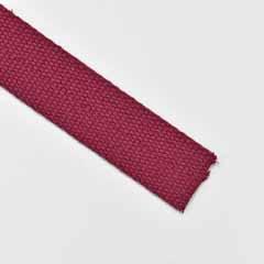 Gurtband Baumwolle 30 mm, weinrot