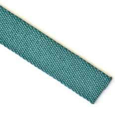 Gurtband Baumwolle 30 mm, jadegrün