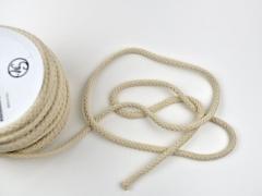 dicke Baumwollkordel 8 mm, natur