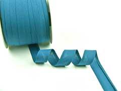 Schrägband 100% Baumwolle, petrol