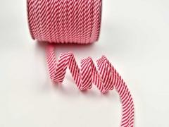 Paspelband Streifen, rot