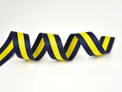 Gurtband Streifen 3 cm, navy gelb navy