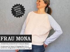 FrauMona Raglansweater Schnittmuster
