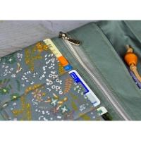 Lederimitatband /Schnürsenkel 4mm, hellbeige