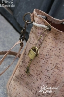 Kork Meterware Rechtecke braun