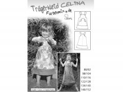 Schnittmuster Trägerkleid Celina Farbenmix
