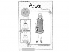 Schnittmuster Doppelkleid Arwen Farbenmix