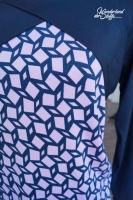 RESTSTÜCK 41 cm Viskose Jersey uni, dunkelblau