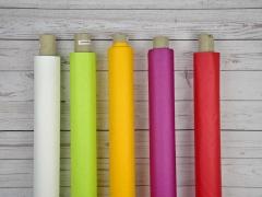 beschichteter Baumwollstoff einfarbig Luisa, petrol