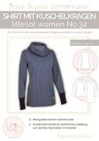 Schnittmuster lillesol women No.32 Shirt m. Kragen