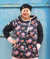 Big Lady Rose Plus-Size Damenshirt Schnittmuster