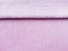 Sweat Alpenfleece uni - rosa