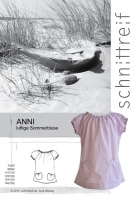 Sommerbluse Anni Papierschnittmuster Studio Schnittreif