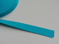 Gurtband - 2,5cm breit, türkis #20