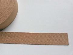 Gurtband Baumwolle 4 cm breit, camel 44