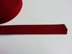Gurtband Baumwolle 4 cm breit-dunkelrot #72