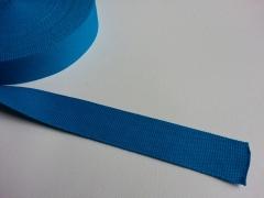 Gurtband Baumwolle 4 cm breitt, türkis #20