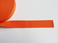 Gurtband - 4 cm breit, orange #83