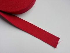 Gurtband Baumwolle 4 cm breit, rot #8