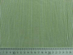 BW Mini Streifen, oliv/weiß
