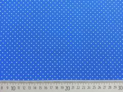 BW Punkte 2mm, königsblau/weiß