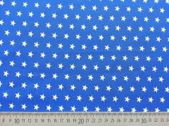BW Sterne 1 cm, königsblau/weiß
