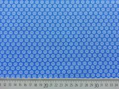 BW Streublümchen, königsblau/weiß