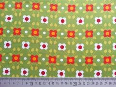 Baumwolle Soft Cactus Toddler Ivy Blumen & Punkte - grün
